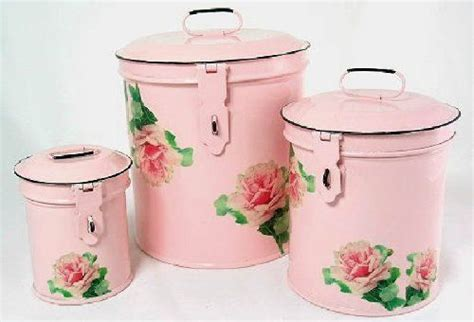 pink kitchen storage 1000 ideas about vintage canisters on vintage 1502