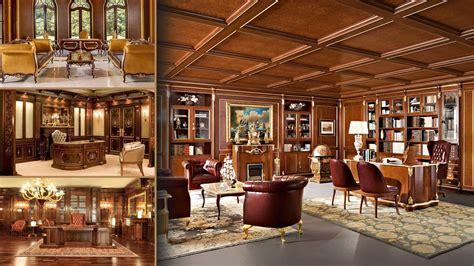Executive offices luxury classic interior design studio ...
