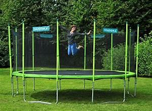 Trampolin Für Den Garten : hudora trampolin family garten trampolin mit ~ Michelbontemps.com Haus und Dekorationen