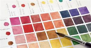 Colour Mixing Chart For Artists How To Make A Watercolor Mixing Chart Step By Step