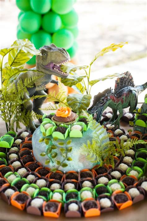 Jurassic Park Decorations - kara s ideas jurassic park dinosaur boy birthday