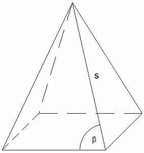 Quadratische Pyramide A Berechnen : aufgabe 2002 p1 ~ Themetempest.com Abrechnung