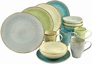 Geschirr Set Pastell : creatable combi servies aardewerk 16 delig nature collection bestellen bij otto ~ Eleganceandgraceweddings.com Haus und Dekorationen