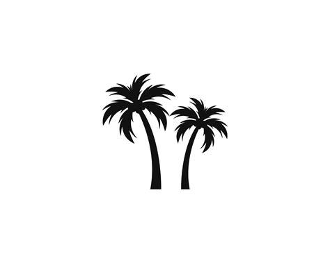 palm tree summer logo template   vectors