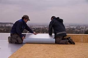 debut de l39etancheite de toiture maison passive 15kwh With pare vapeur toiture terrasse