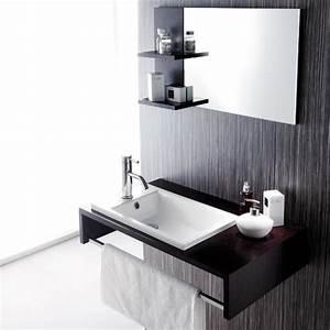 Handwaschbecken Gäste Wc : badm bel set g ste wc top mit waschbecken unterschrank spiegel 75cm ~ Markanthonyermac.com Haus und Dekorationen