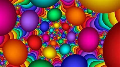 Bright Colorful Background Balloons Amazing Retina