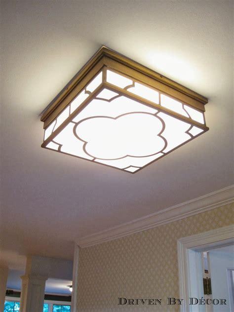 Kitchen Lighting Fixtures Ceiling by Flush Mount Kitchen Ceiling Light Low Profile Flush