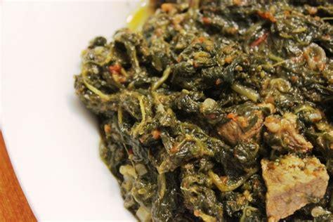 recette de cuisine togolaise epinards sautés au boeuf ou gboma dessi recette
