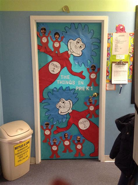 thing 1 thing 2 classroom door dr suess classroom crafts dr seuss bulletin board dr seuss