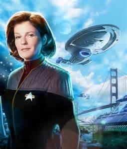 Star Trek Voyager Captain Kathryn Janeway