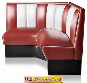 Us Diner Möbel : hw 120 120 ru american dinerbank eckbank diner b nke m bel 50 s retro usa style ebay ~ Markanthonyermac.com Haus und Dekorationen