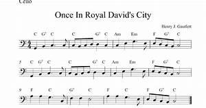 Once In Royal David S City Pdf