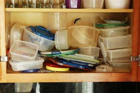 organize plastic containers interdesign cabinet binz