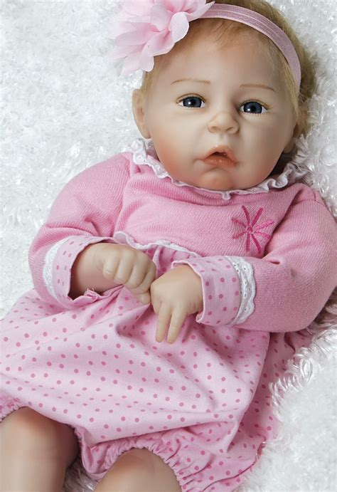 Real Life Baby Doll In Siliconelike Flextouch Vinyl
