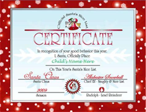 santas nice list certificate red  files