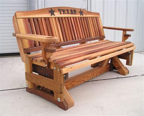 wooden  wood glider bench plans  plans