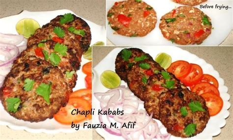 chapli kababs   appetizers afghan food recipes