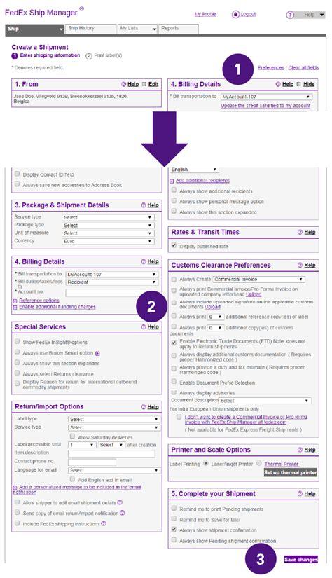 complete international shipping documentation