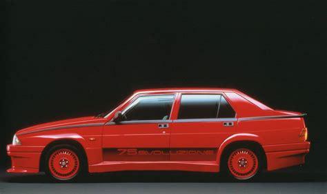Alfa Romeo It by Alfa 75 Evoluzione Quando La Potenza Si Tinge Di Rosso