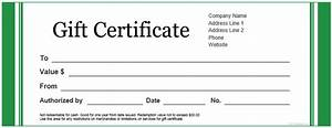 fillable gift certificate template free best template idea With fillable gift certificate template free