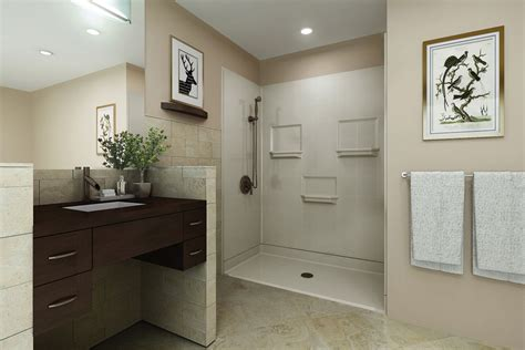 Barrier Free Bathroom Design by Barrier Free Showers In Ct Custom Shower Installations