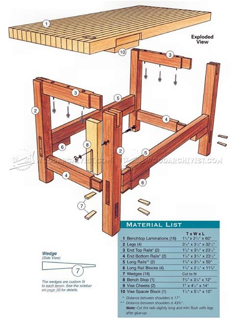 Workbench Stool Plans 2238 Workbench Plans Workshop Solutions My