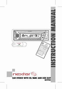 Download Nextar Car Stereo System Nc990c Manual And User