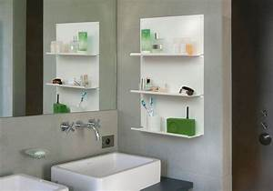 etagere murale salle de bain quotlequot lot de 4 teebooks With etagere salle de bain design