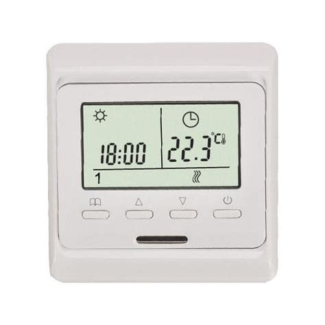 thermostat wlan fußbodenheizung bodenheizung thermostat