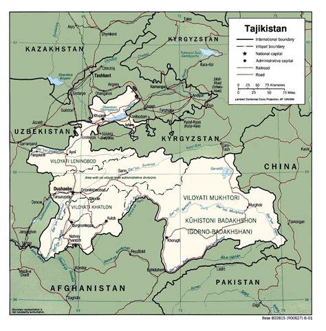 Tajikistan Maps