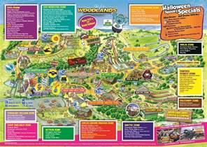 Halloween Theme Parks 2017 by Woodlands Park Map Woodlands Family Theme Park Devon