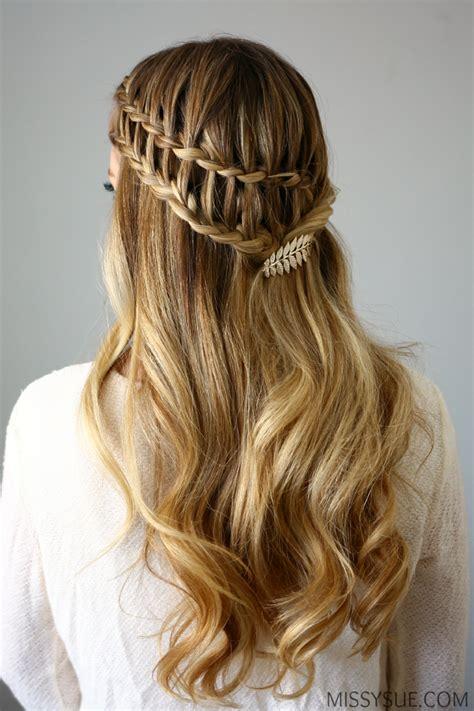 half up ladder braid hairstyle latest 2016 braid