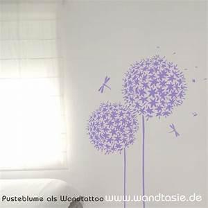Wandtattoo Pusteblume Weiß : wandtattoos schilder piktogramme von wandtasie pusteblume ~ Frokenaadalensverden.com Haus und Dekorationen