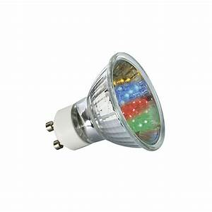 Ampoule Led Couleur : ampoule 20 led couleurs gu10 lux et d co ampoule led gu10 ~ Melissatoandfro.com Idées de Décoration