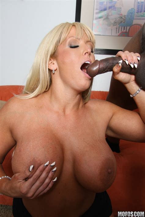 Big Titted Blonde Is Sucking Black Dick Photos Alura