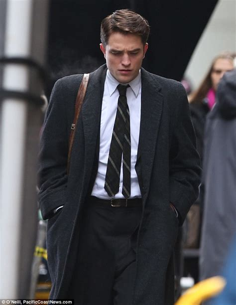 Robert Pattinson Batman Suit