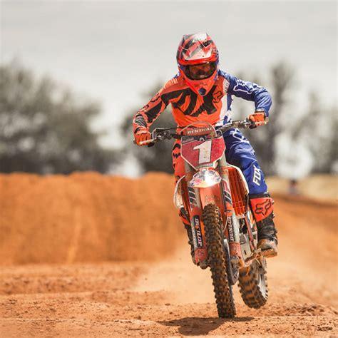 orange motocross gear fox racing 2017 mx new 360 creo orange blue ktm jersey