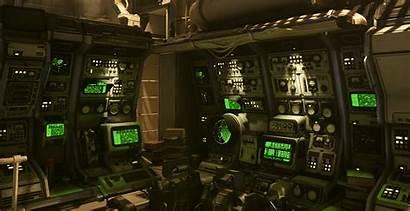 Modular Artstation Consoles Submarine Ufo Interior System