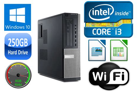 dell optiplex  desktop ii dualquad core gb ram