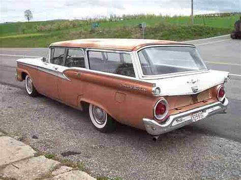 ford usa 1959 country sedan 4door station wagon the sell used 1959 ford country sedan station wagon rebuilt