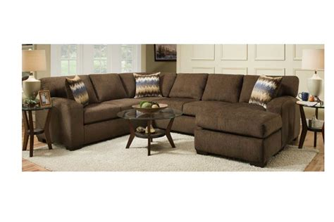 Living Room Sets Perth by Perth Chocolate Sectional The Furniture Shack Discount