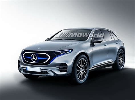 2020 Mercedesbenz Eqc Imagined In Artist's Renderings