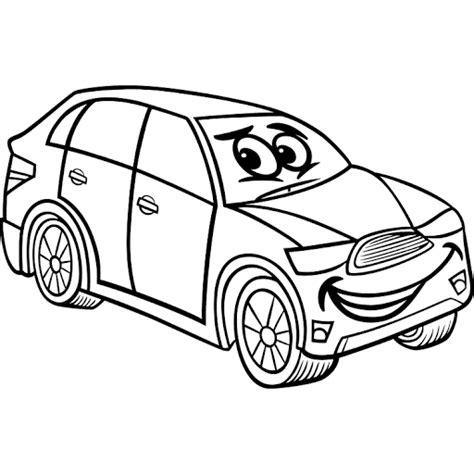 mewarnai gambar mobil sederhana belajar mewarnai gambar