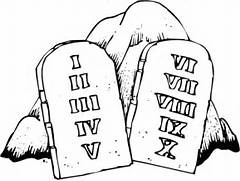 Ten commandments clipa...Ten Clipart Black And White