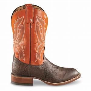tony lama men39s omaha square toe western boots 700889 With cowboy boots omaha