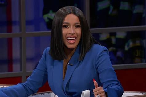 Cardi B Tells Jimmy Kimmel She's Not Ready To Bring
