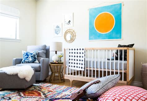 west elm crib before after a colorful nursery in southern california