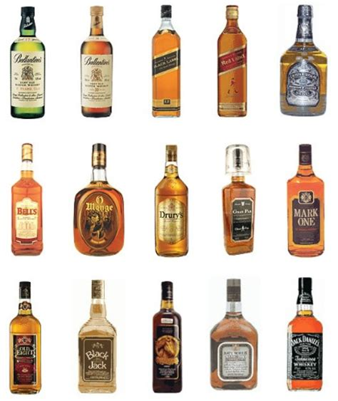 brands of whiskey top 5 best whiskey brands