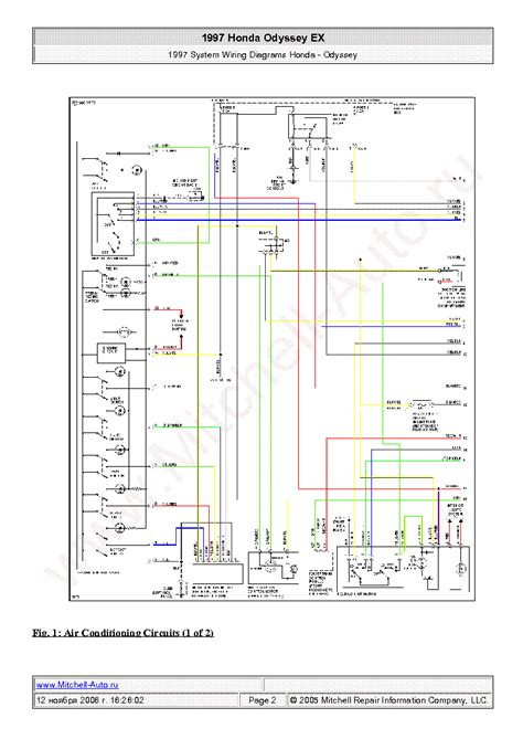 Honda Pilot Wiring Diagrams Sch Service Manual